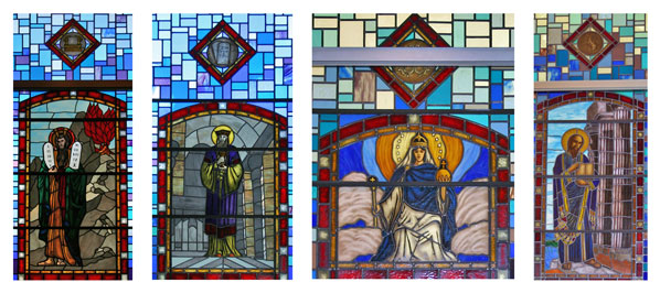 Stained Glass Windows Remind Catholics Of Our Heritage