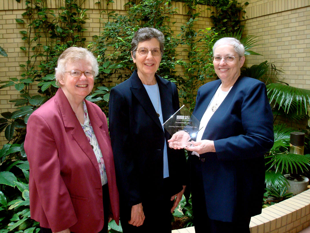 Holy Cross Sisters lauded for care of persons with AIDS