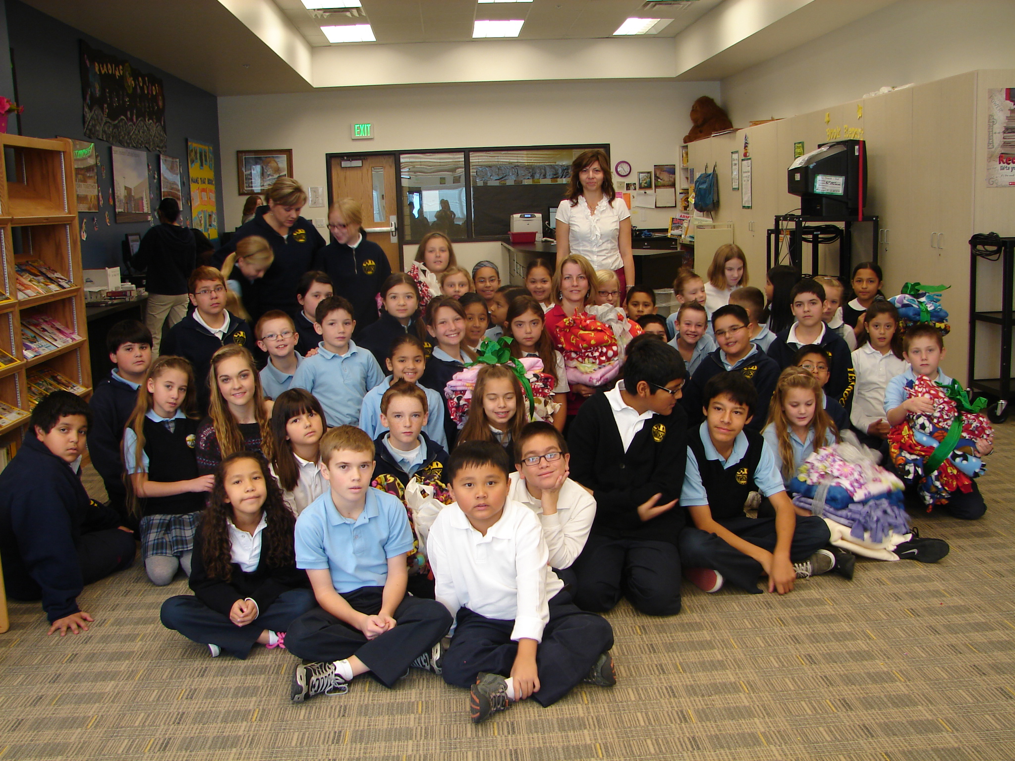 St. Andrew students aid The Christmas Box House - Intermountain ...