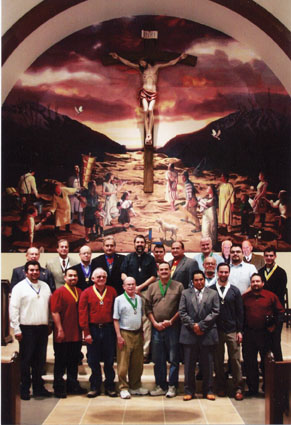 Knights Continue Their Support Of Saint Francis Of Assisi