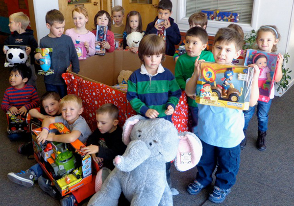 Toys For Tots Application 2013 : Pre k students at st olaf school collect toys for tots