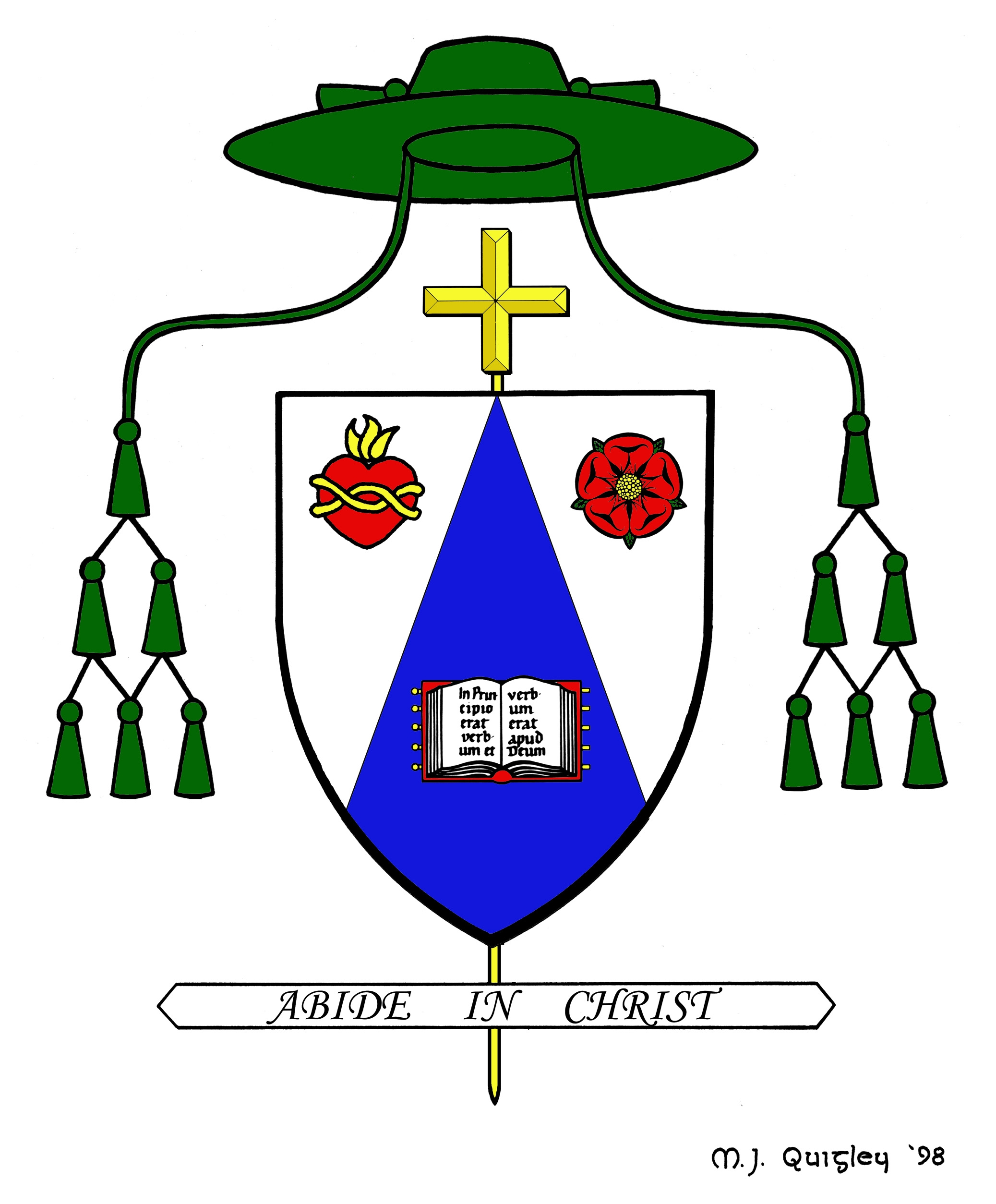 Symbolism of archbishop westers coat of arms intermountain catholic symbolism of archbishop westers coat of arms buycottarizona Images