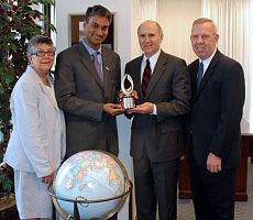Catholic Relief Services recognizes Church of Jesus Christ of Latter-day Saints with Deus Caritas Est Award
