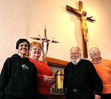 Red rock country keeps priest in his golden years