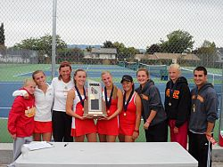 Judge girls' tennis earns seventh UHSAA 3A state title