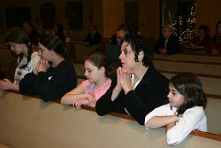 Homeschool children learn the Catholic faith