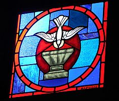 New windows adorn Saint James the Just Parish