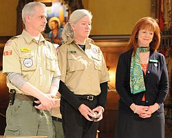 Religious Emblems Awards ceremony honors Scouts