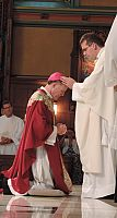 Diocese celebrates priestly ordination