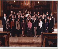 Deacons celebrate 10th anniversary of their ordination