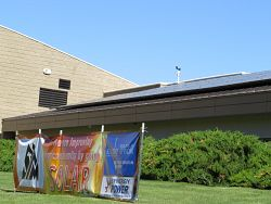 Solar panels help parishes continue conservation efforts and save money