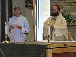 Dominican Father Marcin Szymanski assigned to St. Catherine of Siena Newman Center