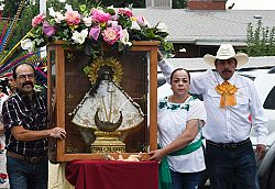 Diocese's international community celebrates the Blessed Virgin Mary