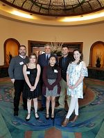 St. Olaf Students Honored at Awards Banquet for Placing Third in Utah in the Stock Market Game