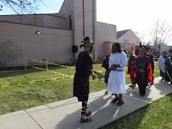 Living Stations of the Cross Around the Diocese