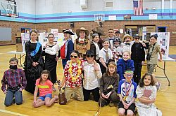 Students depict historical people at 'Wax Museum'