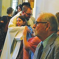 Dominican priests bade farewell at St. Catherine's