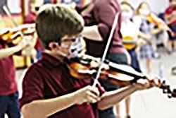 St. Olaf School begins orchestra program