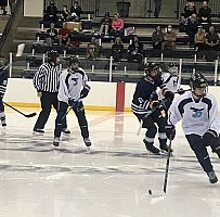 Juan Diego's hockey comes back with a win in the first game
