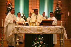 Black Catholics of Utah welcome Bishop Joseph N. Perry