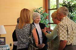 New prioress visits Mt. Benedict Monastery