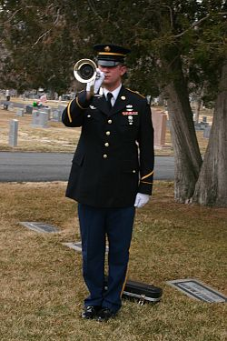 Honor Guard salutes fallen veterans