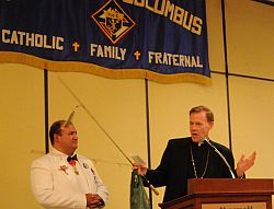 Knights of Columbus convention honors winners