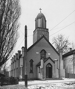 Utah's first Catholic church, Saint Mary Magdalene, was built in the middle of SLC