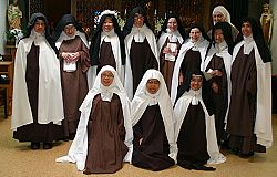 New Carmelite Mother Superior lives her vocation praying for the whole world every day with her sisters