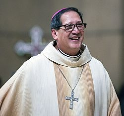 Bishop Oscar A. Solis: Making history by trusting in God