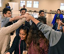 Retreat encourages youth to consider who they are and their place in the community