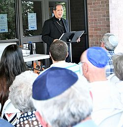 Synagogue welcomes message of interfaith dialogue