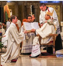 St. Rose of Lima parishioner prepares for priesthood