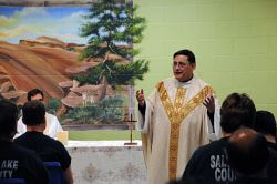 Christmas Mass celebrated at Oxbow Jail