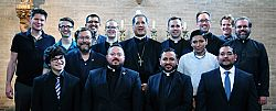 Bishop Solis Meets with Men Discerning Priestly Vocations