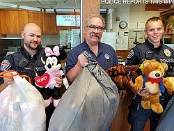 Knights of Columbus round up thousands of stuffed animals for children in crisis