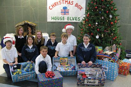 Saint John the Baptist students learn the gift of giving ...