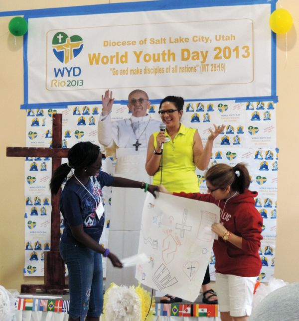 Diocesan Youth Celebrate World Youth Day Intermountain