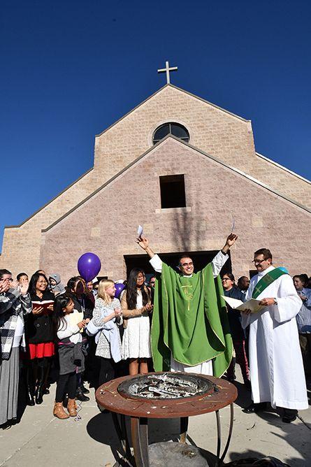 St  Thomas Aquinas Parish: 'Now it's our church